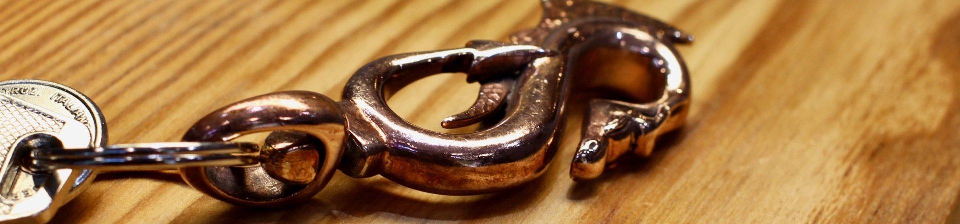 Drako Red Key Ring