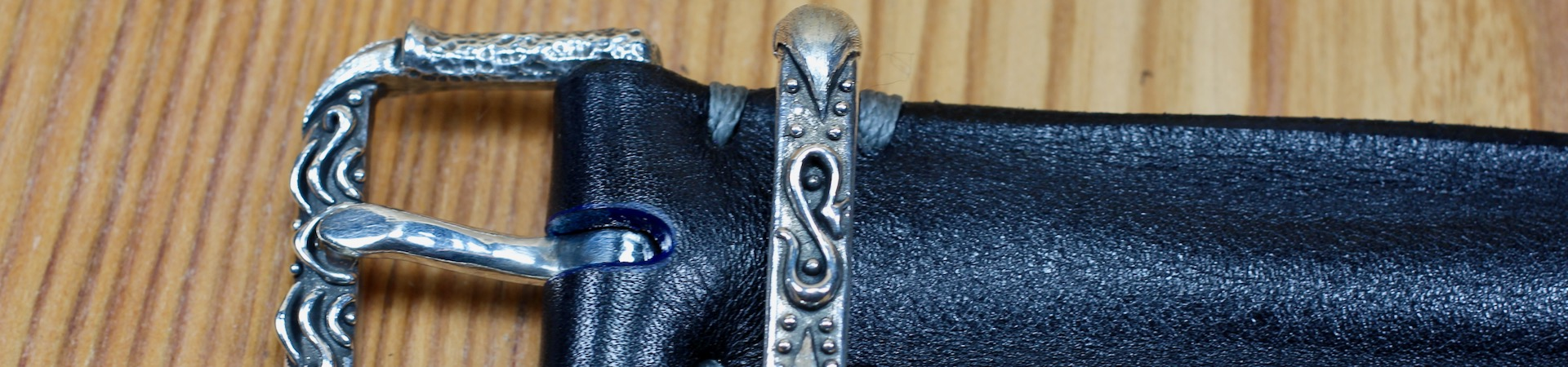Silver Drako Belt